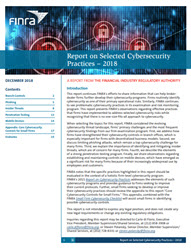 Cybersecurity Finra Org