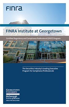 FINRA Institute at Georgetown Online Brochure