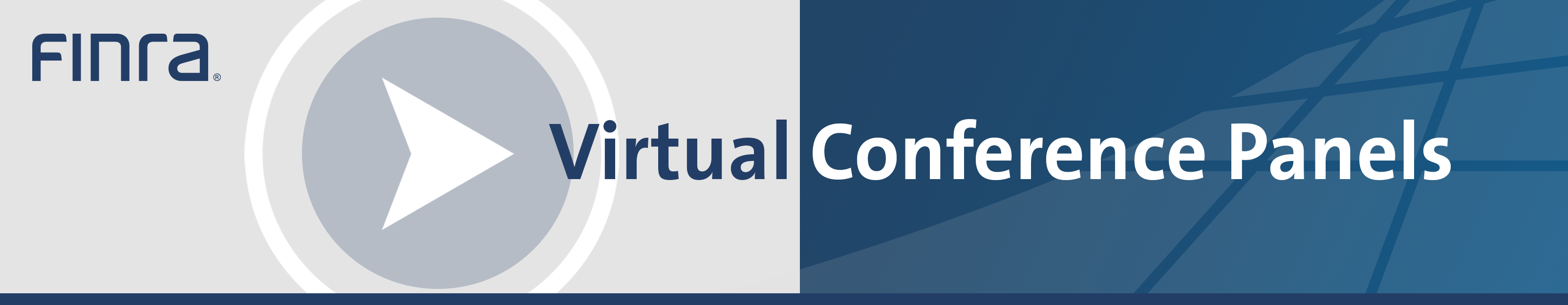 FINRA Virtual Conference Panels