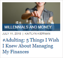 Adulting Five Things I Wish I Knew About Managing Finances