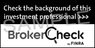 BrokerCheck Black and White Badge