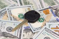 Car Key Over Dollar