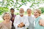 Group of Senior Retirement Friends Happiness ©iStockphoto.com/Rawpixel