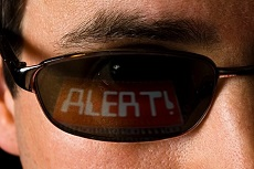 Hacker Causes an Alert