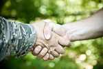Military Ties Can Be Used to Commit Financial Fraud ©iStockphoto.com/Catherine Lane