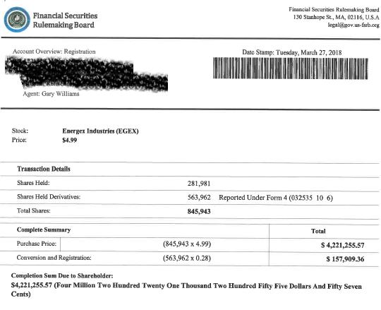 Fraudulent email communication: key advance-fee tactic