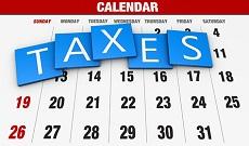 Taxes Calendar
