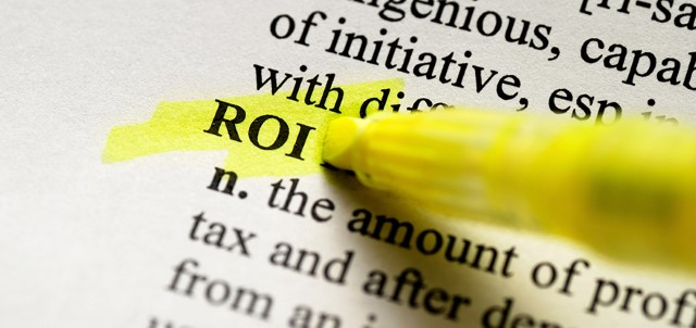 ROI Highlighted in Dictionary