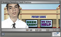 Avoiding Deceptive Credit Practices Tutorial