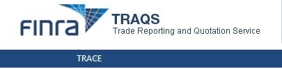 TRACE Trade Reporting and Quotation Service Old Description Screenshot
