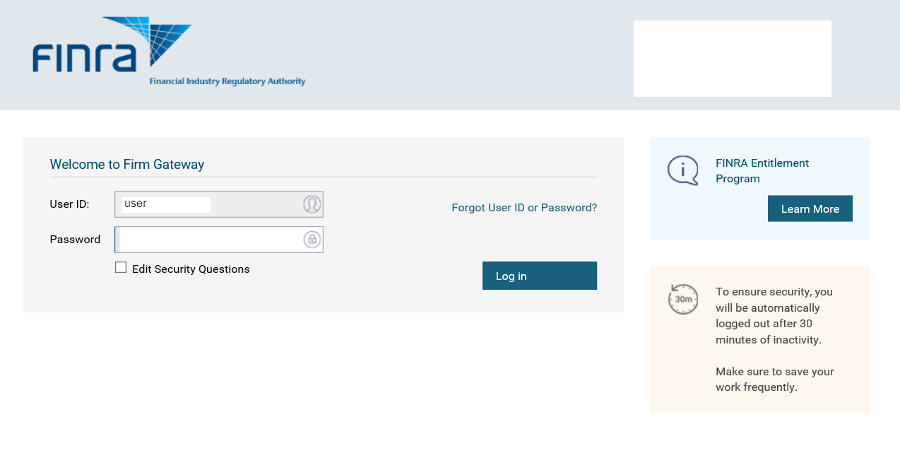 Image of Password Field and Continue Button