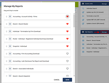 New CRD Reports