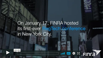 2019 FINRA RegTech Conference