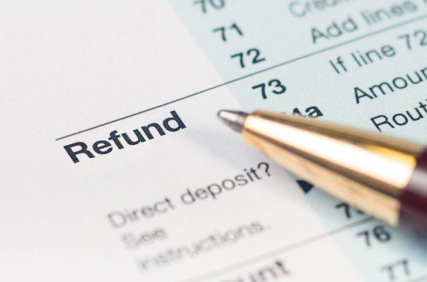 utility deposit refund